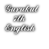 (Archived) 7th Std English 2016