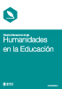 Humanidades en la educacion bookstorethumbnail